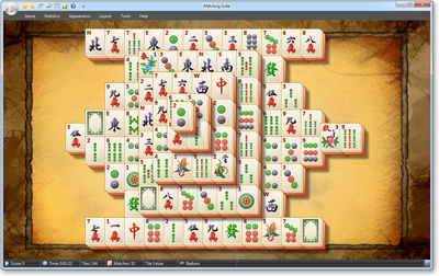 MahJong Suite Solitaire screenshot